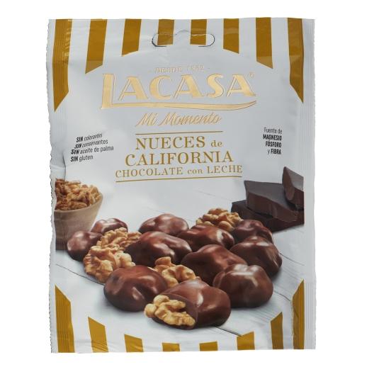 NUEZ CON CHOCOLATE LACASA 115G