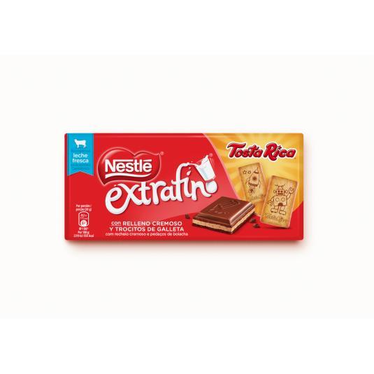 CHOCOLATE NESTLE TOSTA RICA 120G