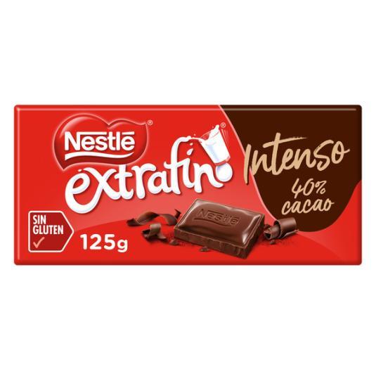 CHOCOLATE LECHE INTENSO NESTLE 125G