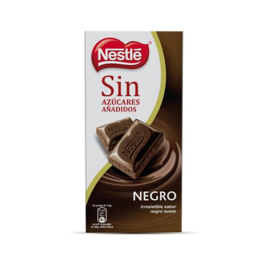 CHOCOLATE NEGRO NESTLE S/AZUCAR