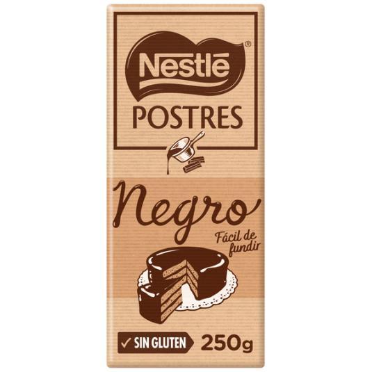 CHOCOLATE NEGRO POSTRE NESTLE