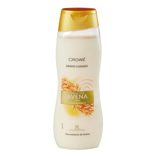 GEL BAÑO AVENA CROWE 750ML