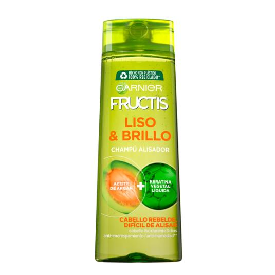 CHAMPU FRUCTIS LISO & BRILLO 360 ML