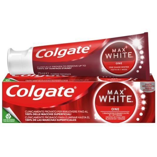 DENTR.COLGATE MAX WHITE ONE.75ML