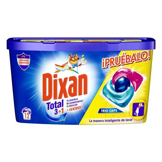 DET.DIXAN TRIO CAPS 12 DOSIS