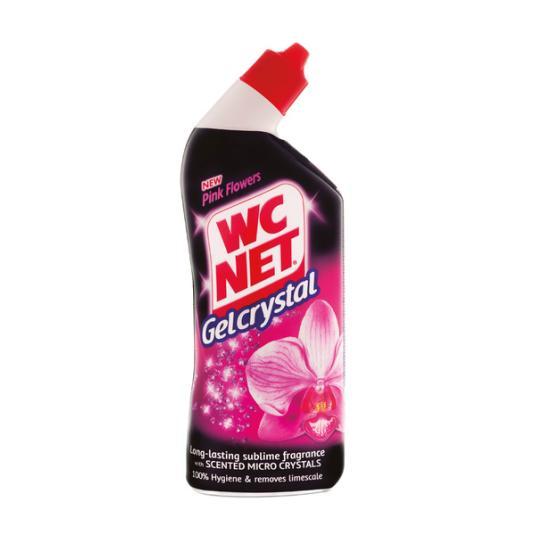 GEL WC NET PINK FLOWER 750 ML