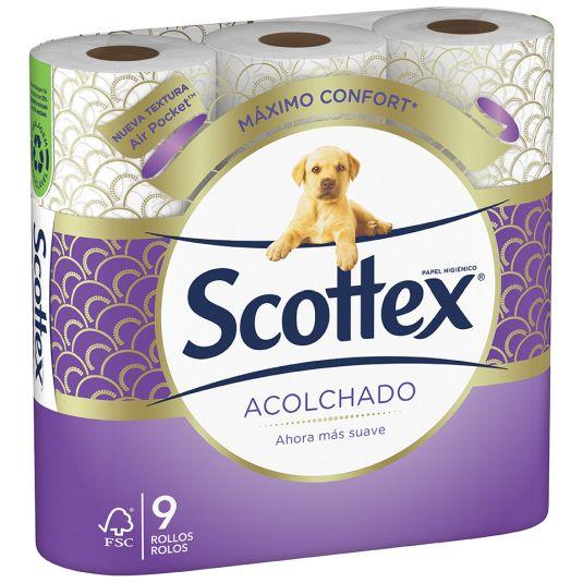 HIGIENICO SCOTTEX ACOLCH.P-9