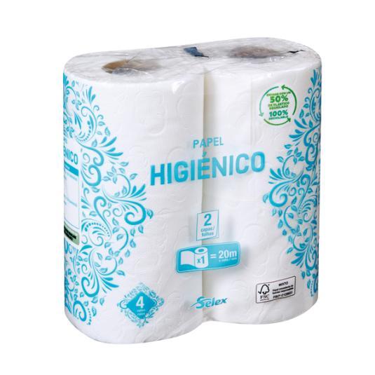 HIGIENICO SELEX 4 ROLLOS
