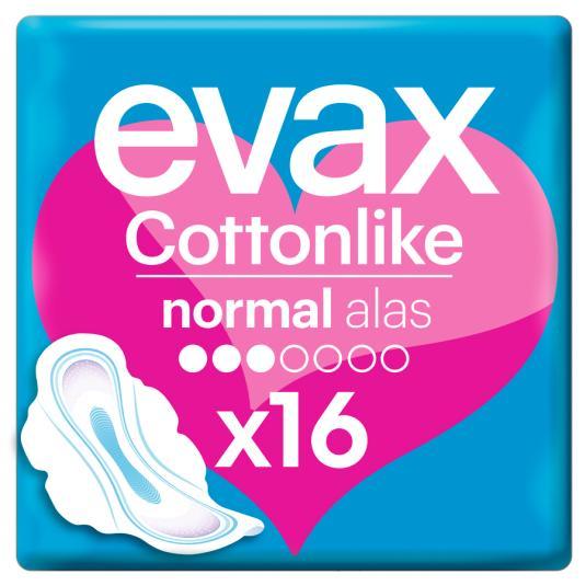 EVAX COTTON ALAS NORMAL 16 UD