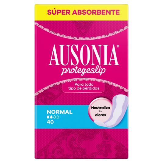 SALVASLIP AUSONIA NORMAL 40 UDS