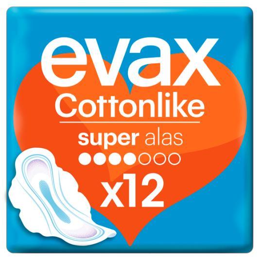 EVAX COTTON SUPER ALAS 12 UD