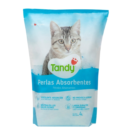 ARENA GATOS PERLAS ABSORB.TANDY