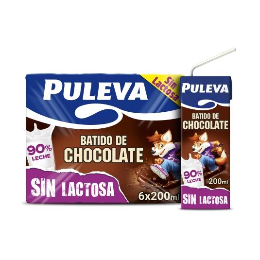 BATIDO PULEVA CHOCO S/LACTOSA P-6