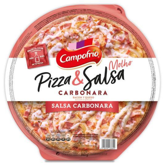 PIZZA & SALSA CARBONARA CAMPOFRIO