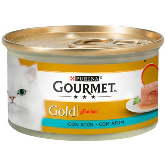 GOURMET CAT GOLD FOND.ATUN 85G