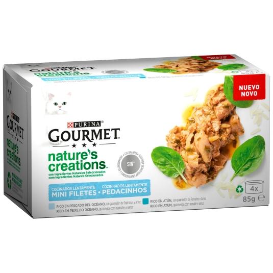 GOURMET CAT NATURES CREATION 4X85GR