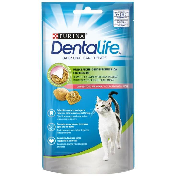 SNACK CAT DENTALIFE SALMON 40GR