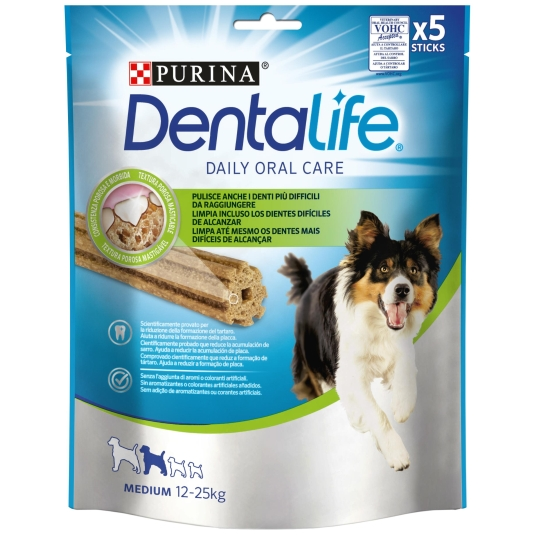 SNACK DENTALIFE PURINA MEDIUM 5 UDS