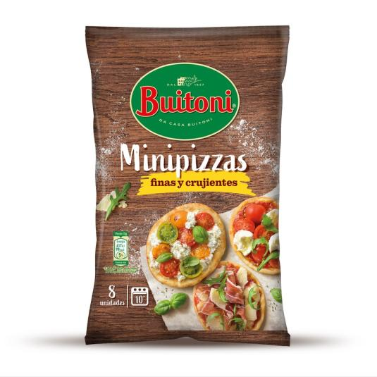 MASA PIZZA MINI FINISS.BUITONI 265G