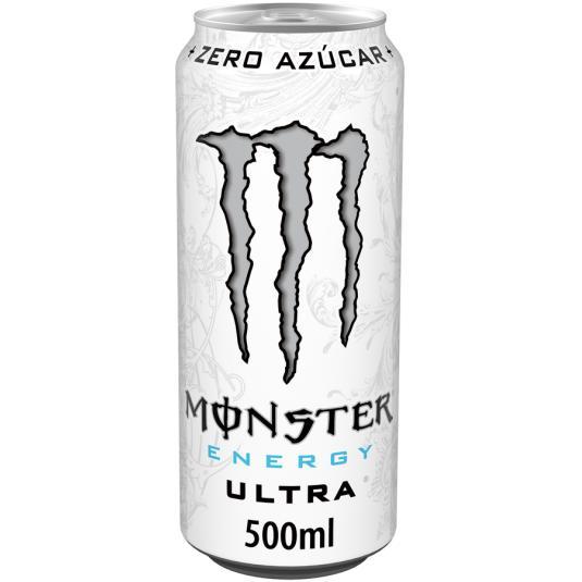 BEB.ENERG.MONSTER WHITE ZERO LATA 500ML