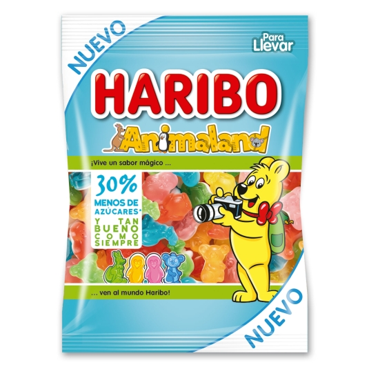 GOMINOLA ANIMALAND HARIBO 90G