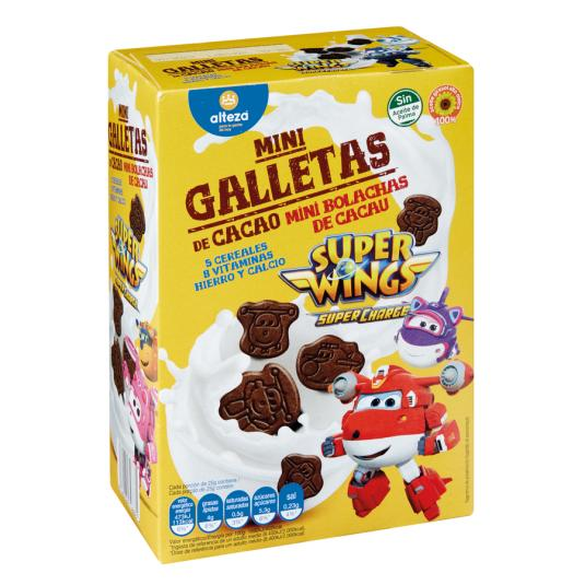 GALLETAS MINIS CACAO ALTEZA 500 GRS