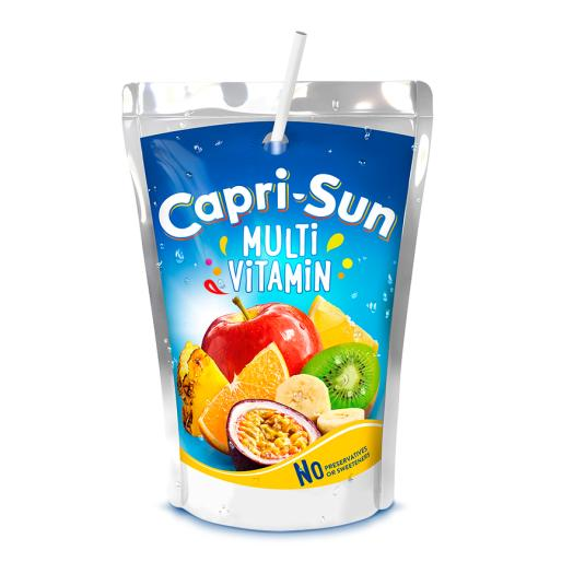 ZUMO CAPRI SUN MULTIVITAMINA 200ML