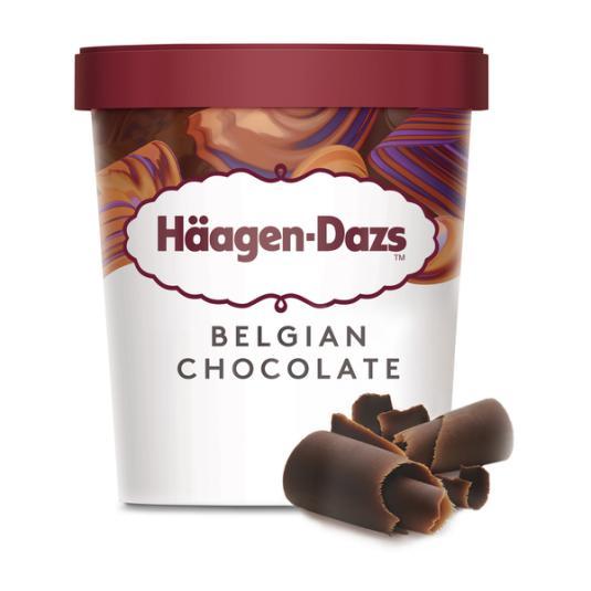HAAGEN-DAZS CHOCOLATE BELGA 460ML