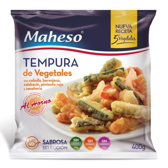 TEMPURA DE VERDURAS 400GR