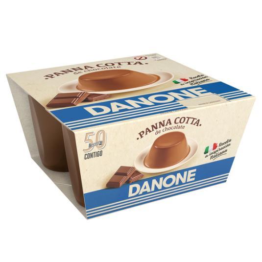 DEPOSTRE PANNACOTTA CHOCOLATE X4