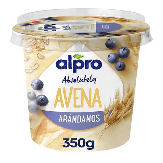 YOGUR ALPRO AVENA-ARANDANO 350 GR