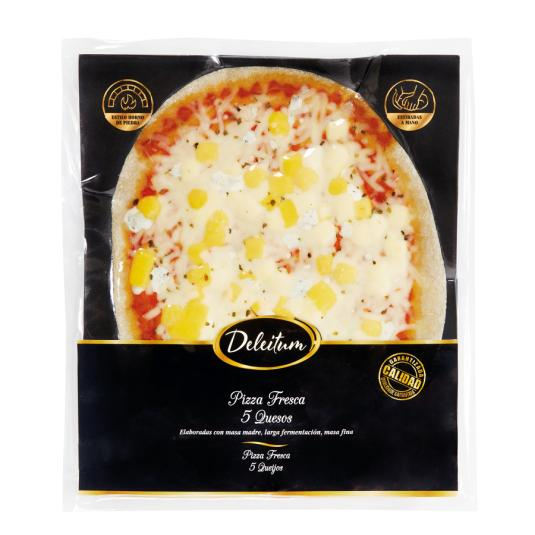 PIZZA DELEITUM 5 QUESOS 420G