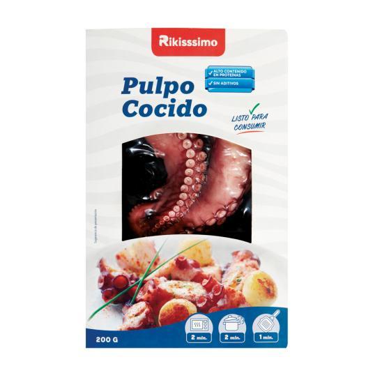 PULPO COCIDO RIKISSSIMO 200GRS