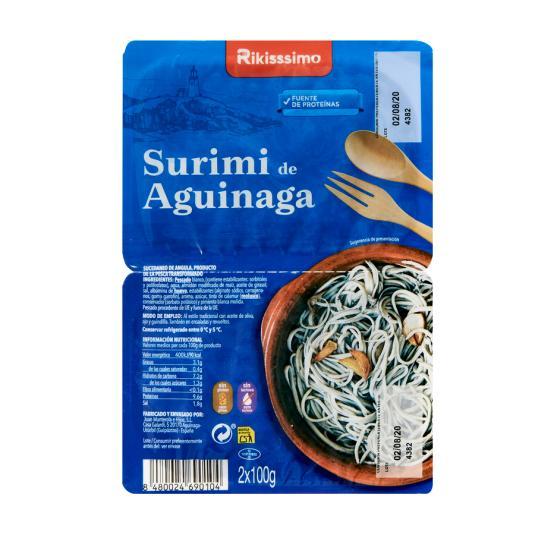 SURIMI DE AGUINAGA RIKISSSIMO 200GR