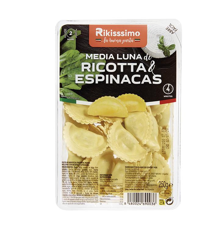 MEDIA LUNA RICOTA/ESPI. RIKISSSIMO 250G