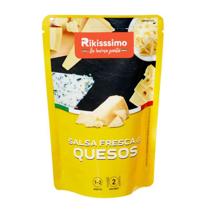 SALSA FRESCA QUESO RIKISSSIMO 180GR