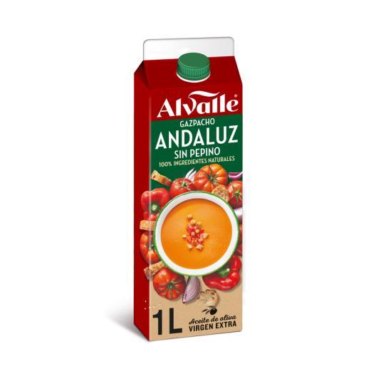 GAZPACHO ANDALUZ ALVALLE 1 LITRO