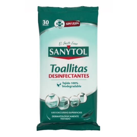 TOALLITAS DESINF SANYTOL 24 UDES